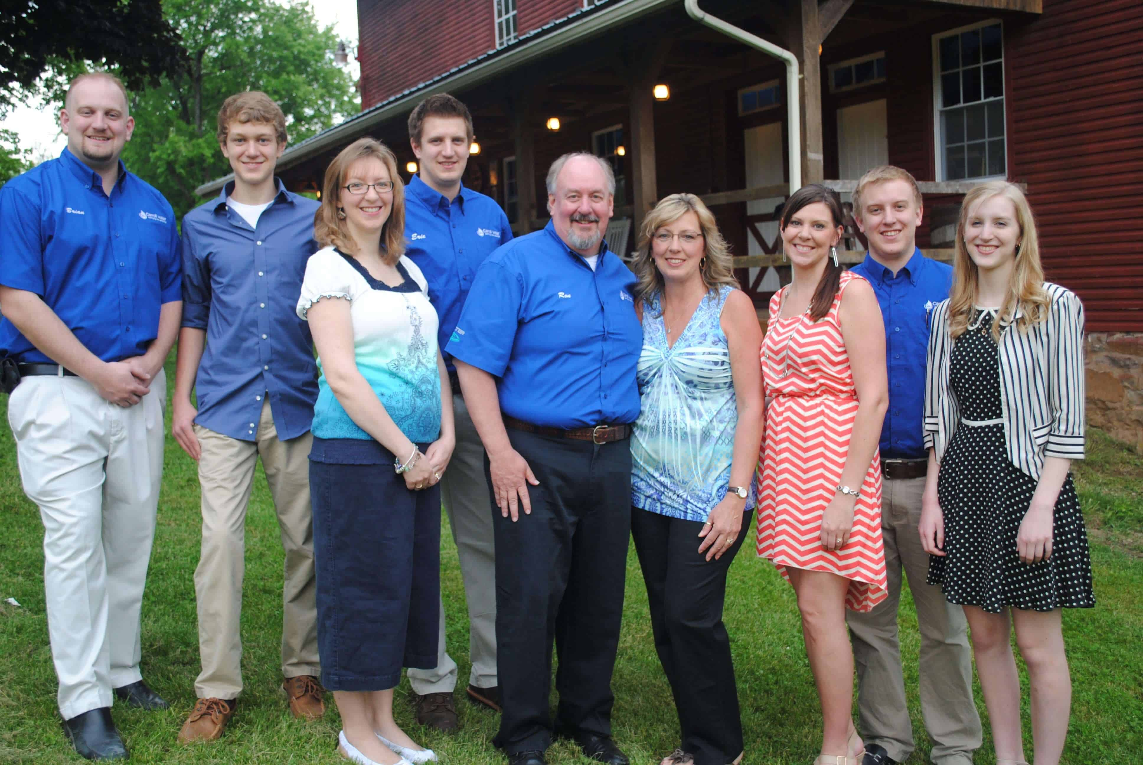 A second group photo of the Carroll Water Systems team.